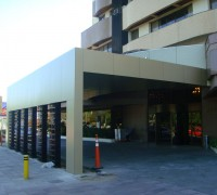 Hotel Millenium Fachada ACM