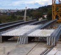 Museu Iberê Camargo – estrutura metálica para cobertura