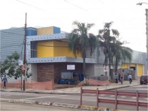 Foto da Obra em Andamento na Av. Sertório – Porto Alegre.